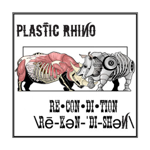 plastic rhino