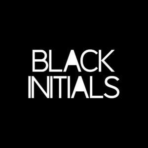 black initials ep