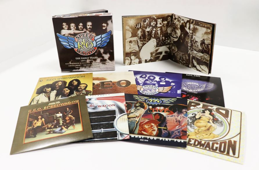 reo speedwagon the early years 1971 1977 real gone